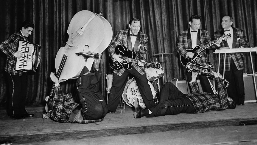 Il rock'n'roll del nord: Bill Haley