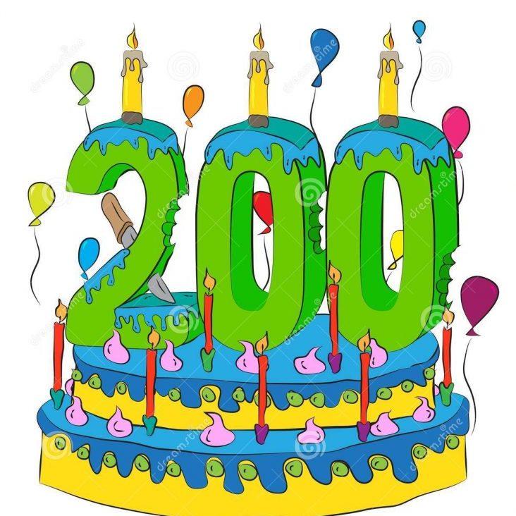 200 candeline